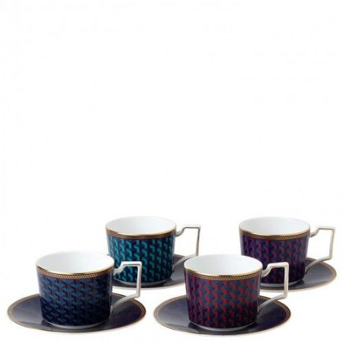 Byzance Teacup & Saucer (Set of 4)